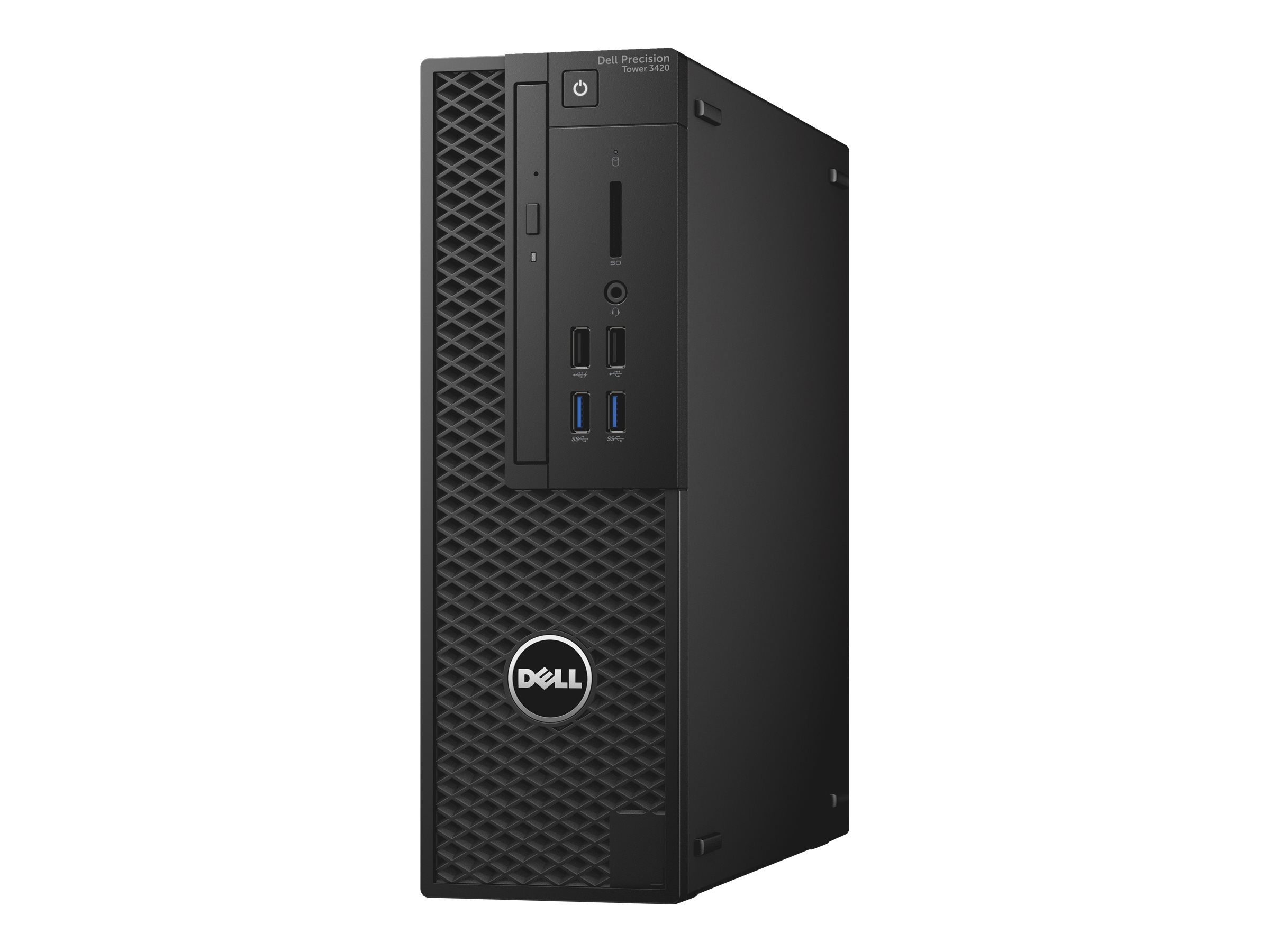 Dell Precision Tower 3420 - SFF - 1 x Core i7 6700 / 3.4 GHz - RAM 8 GB - HDD 1 TB - DVD-Writer