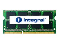 Integral, 4GB DDR3-1333 SoDIMM CL9 R2 UNBUFFERED 1.5V