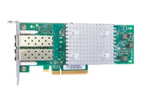 HPE StoreFabric SN1600Q 32Gb Dual Port - Host bus adapter - PCIe 3.0 x8 low profile - 32Gb Fibre Channel x 2 - for SimpliVity 325 Gen10 Node, 380 Gen10 Node