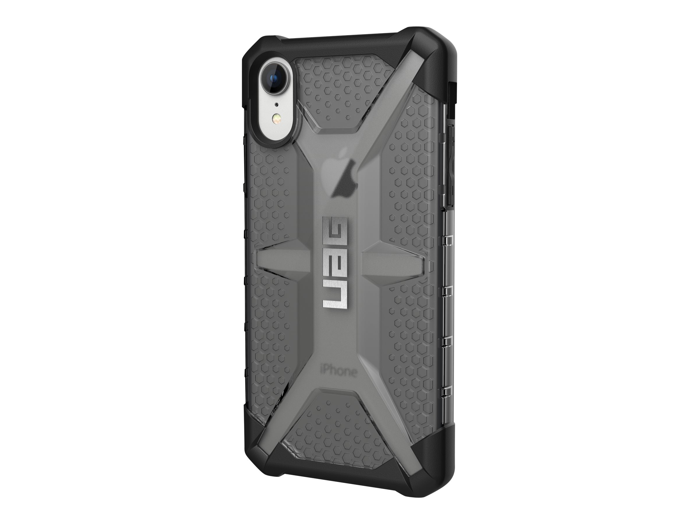 UAG Rugged Case for iPhone XR [6.1-inch screen] - Plasma Ash - back cover for cell phone
