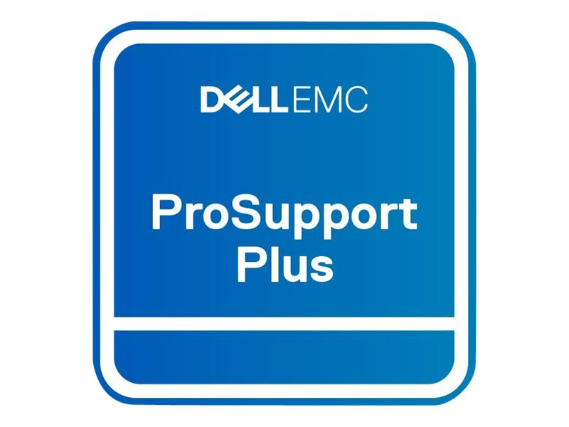 Dell Upgrade from 3Y Next Business Day to 3Y ProSupport Plus - extended service agreement - 3 years - on-site