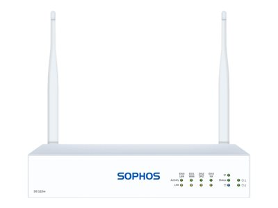 Sophos SG 105w Rev 3 security appliance with 1 year BasicGuard 24x7 GigE Wi-Fi