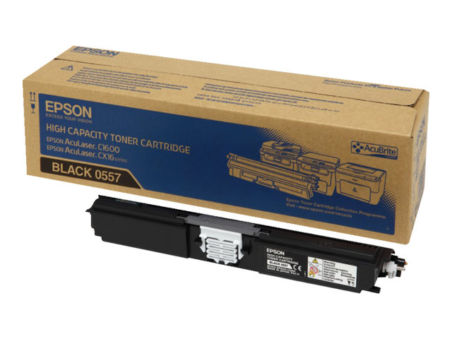 Image of Epson 0557 - high capacity - black - original - toner cartridge