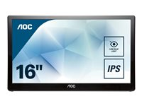 AOC I1659FWUX LED monitor 16INCH (15.6INCH viewable) portable