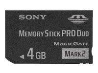 Sony - tarjeta de memoria flash - 4 GB - Memory Stick PRO Duo Mark2