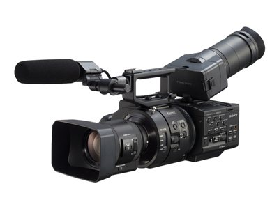 Sony NXCAM NEX-FS700RH Camcorder APS-C 4K 11.6 MP 11x optical zoom 18-200mm OSS lens