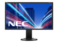 "NEC MultiSync E223W - Écran LED - 22"" - 1680 x 1050 HD 720p - TN - 250 cd/m² - 1000:1 - 5 ms - DVI-D, VGA, DisplayPort - noir"