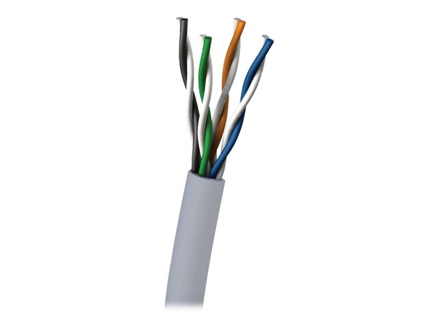 Image of C2G bulk cable - 305 m - grey