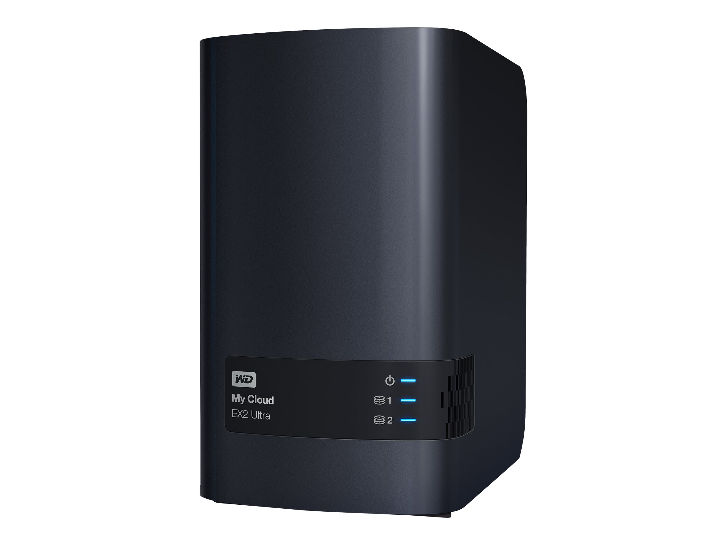 WD My Cloud EX2 Ultra WDBVBZ0000NCH - personal cloud storage device - 0 GB