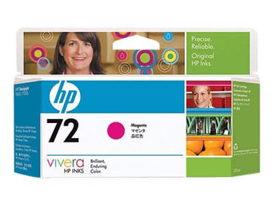 HP 72 - magenta - original - DesignJet - ink cartridge