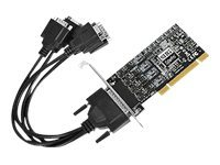 SIIG ID-P40311-S1 Serial adapter PCI low profile RS-422/485 black
