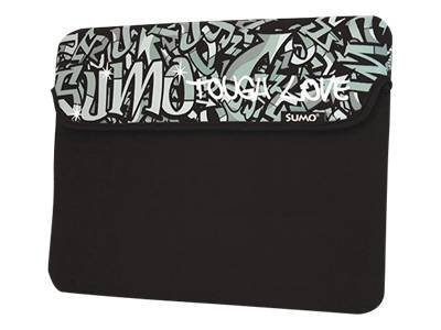 Mobile Edge Sumo Graffiti 10INCH iPad Tablet Neoprene Sleeve Notebook sleeve 10INCH black