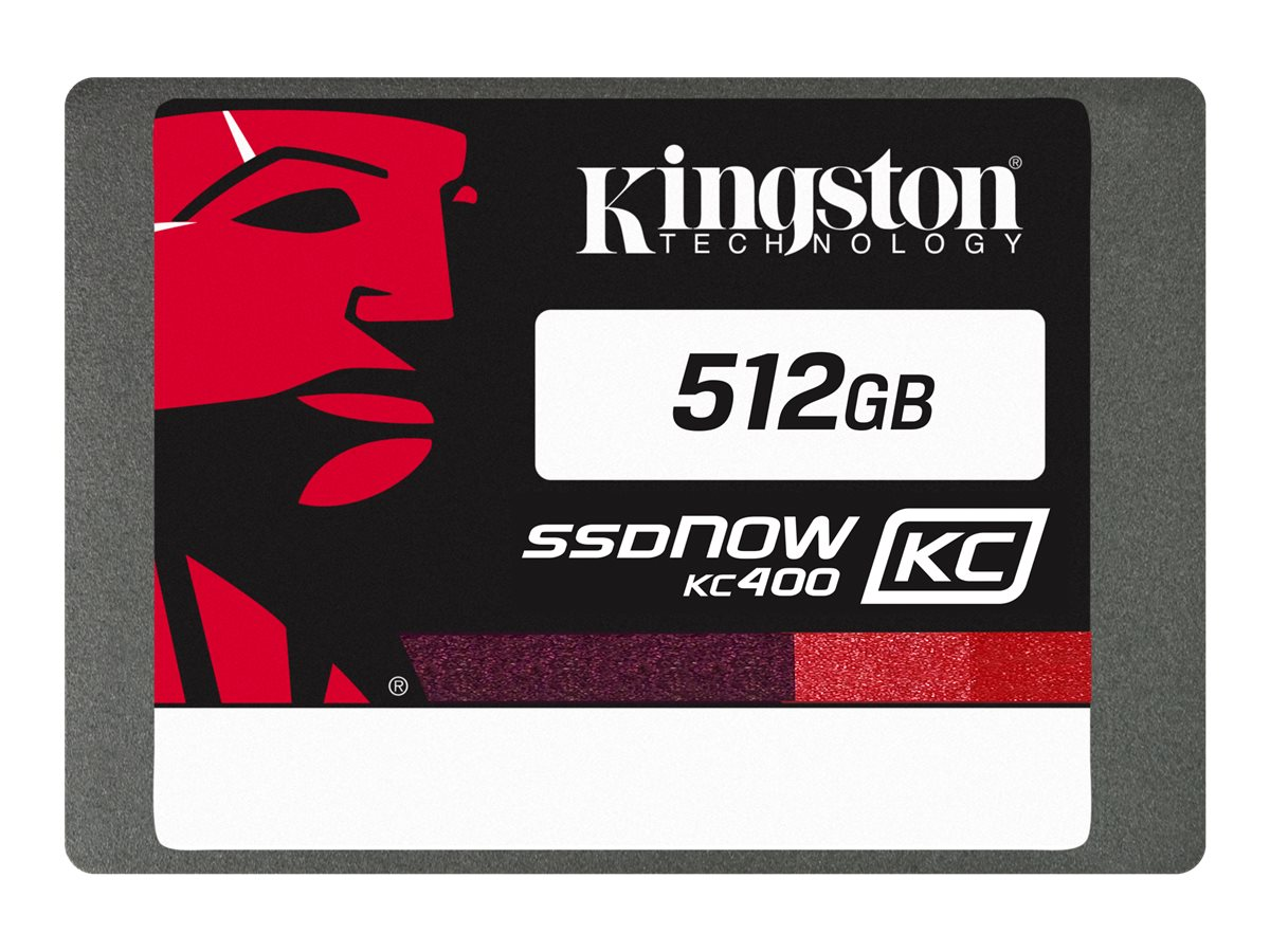 Kingston SSDNow KC400 - Solid-State-Disk - 512 GB - intern - 2.5