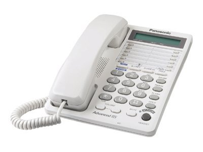 Panasonic KX-TS208W Corded phone 2-line operation white