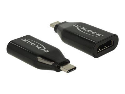 Delock Adapter USB Type-C™ male > HDMI female (DP Alt Mode) 4K 60 Hz