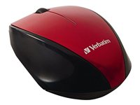 Verbatim Wireless Multi-Trac Blue LED Mouse optical 3 buttons wireless