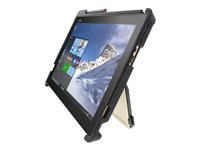 Gumdrop DropTech Back cover for tablet rugged silicone, ABS plastic black