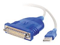 Picture of C2G USB To Serial DB25 Adapter Cable - serial adapter (81671)