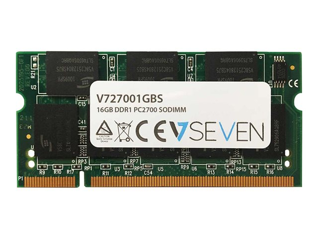 Image of V7 - DDR - 1 GB - SO-DIMM 200-pin - unbuffered