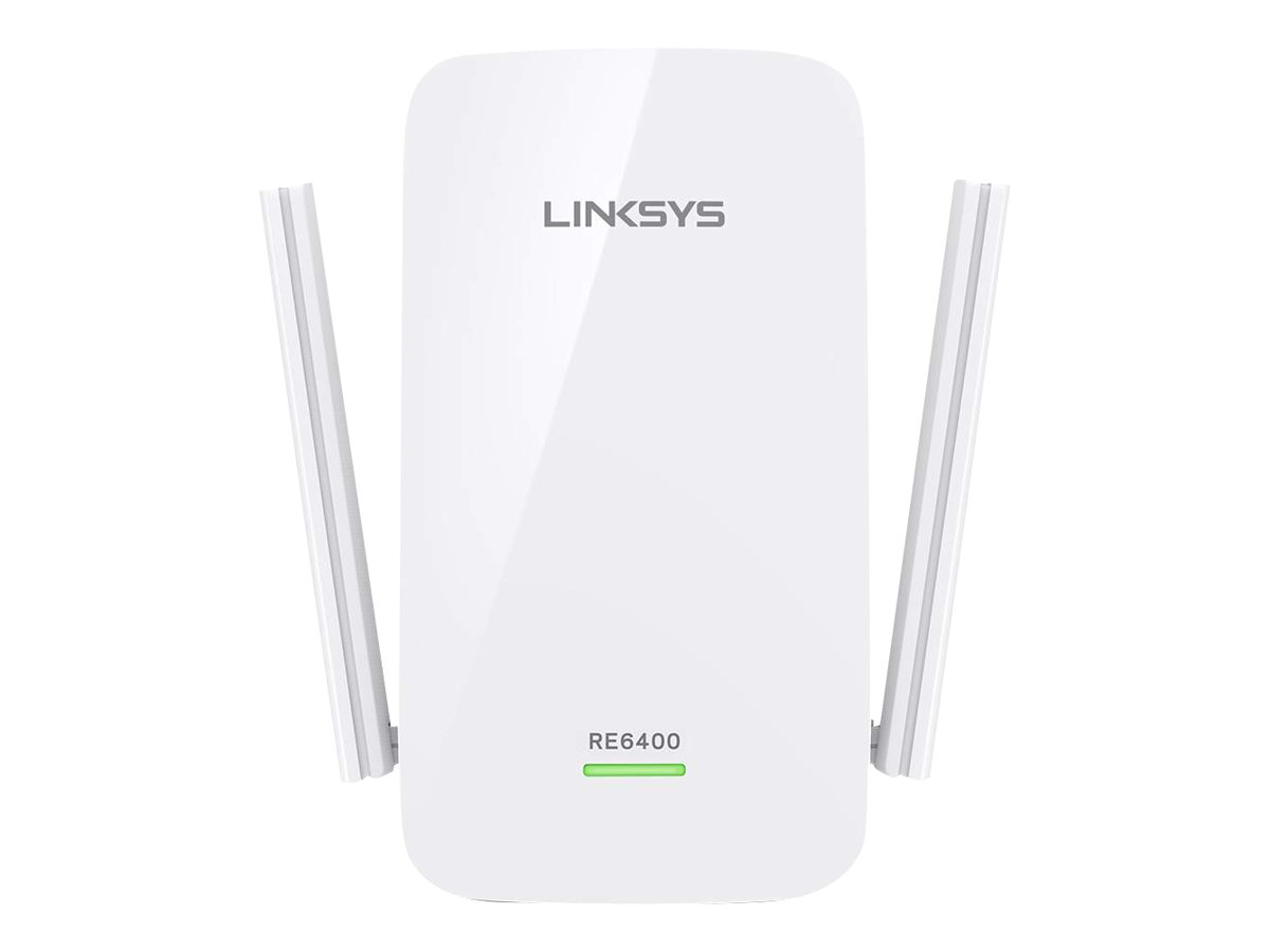 Linksys RE6400 - Wi-Fi-Range-Extender - 802.11ac - Dualband