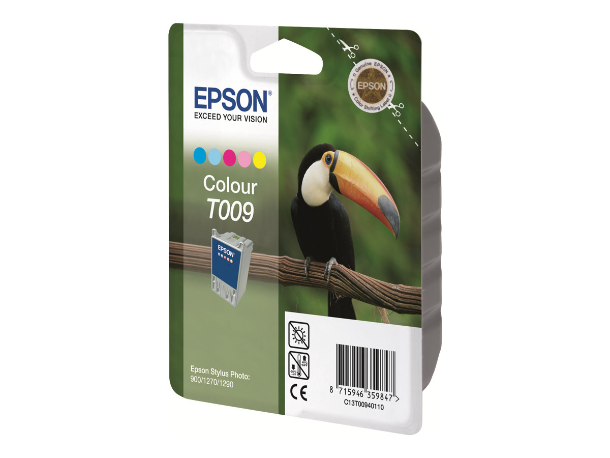 Epson T009 Twin Pack - 2er-Pack - 66 ml - Farbe (Cyan, Magenta, Gelb, Hell-Cyan, Hell-Magenta) - Original - Blisterverpackung
