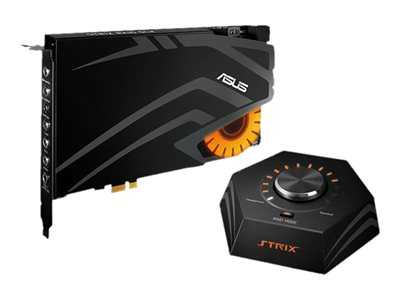 ASUS Strix Raid DLX - sound card