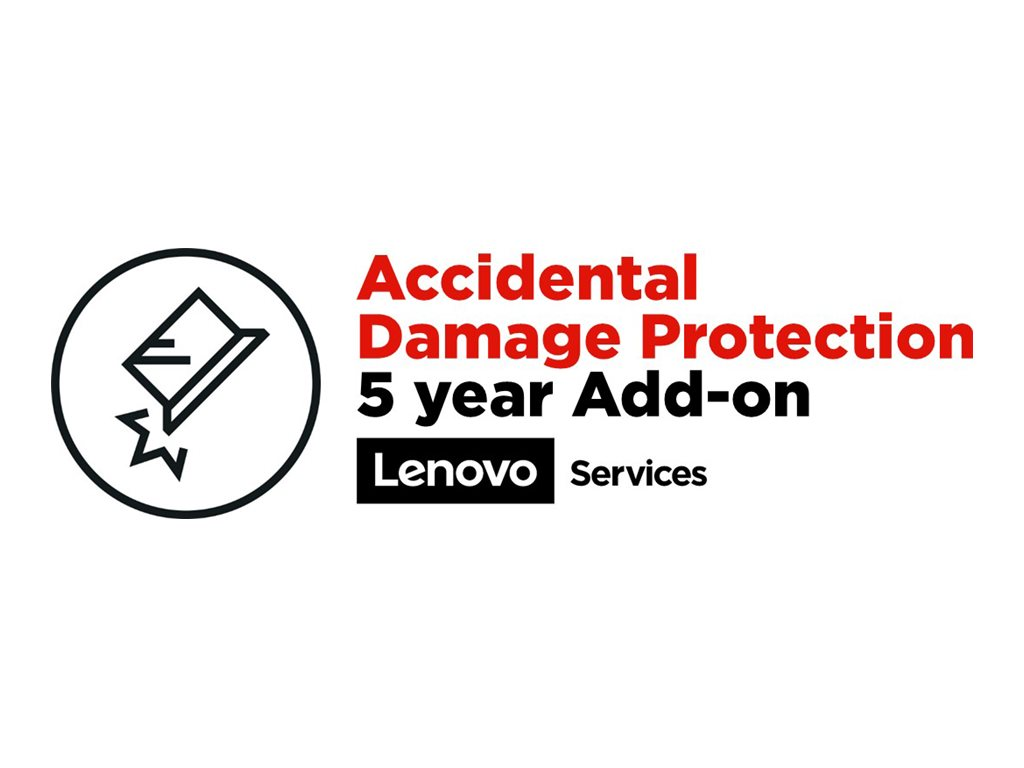 Lenovo Accidental Damage Protection - accidental damage coverage - 5 years