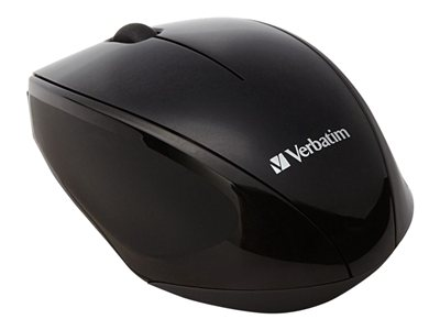 Verbatim Wireless Multi-Trac Blue LED - Mouse - optical - 3 buttons