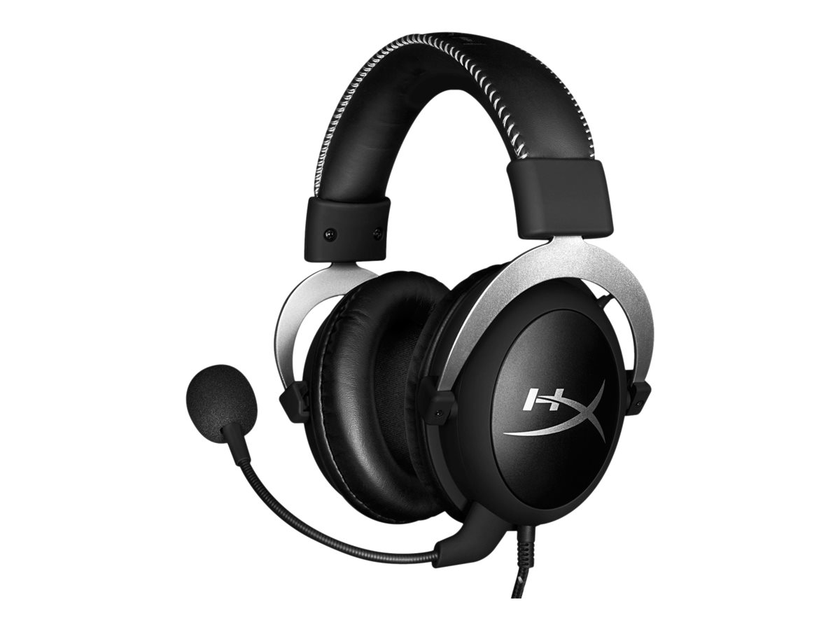 HyperX Cloud Silver - Headset - Full-Size - 3,5 mm Stecker - Silber