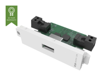 Picture of VISION TechConnect 3 Mobile Phone charging module - modular facility plate snap-in (TC3 USBPW)