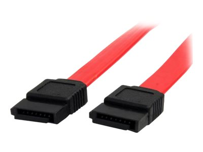 StarTech.com 6in SATA Serial ATA Cable - SATA cable - Serial ATA 150/300 - SATA (F) to SATA (F) - 15 cm - red - for P/N: 25SATSAS35