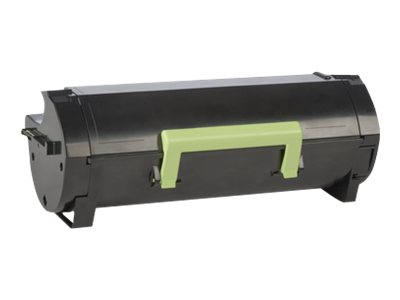 Lexmark 501H High Yield black original toner cartridge LCCP, LRP