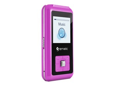 Ematic EM208VID Digital player 8 GB pink