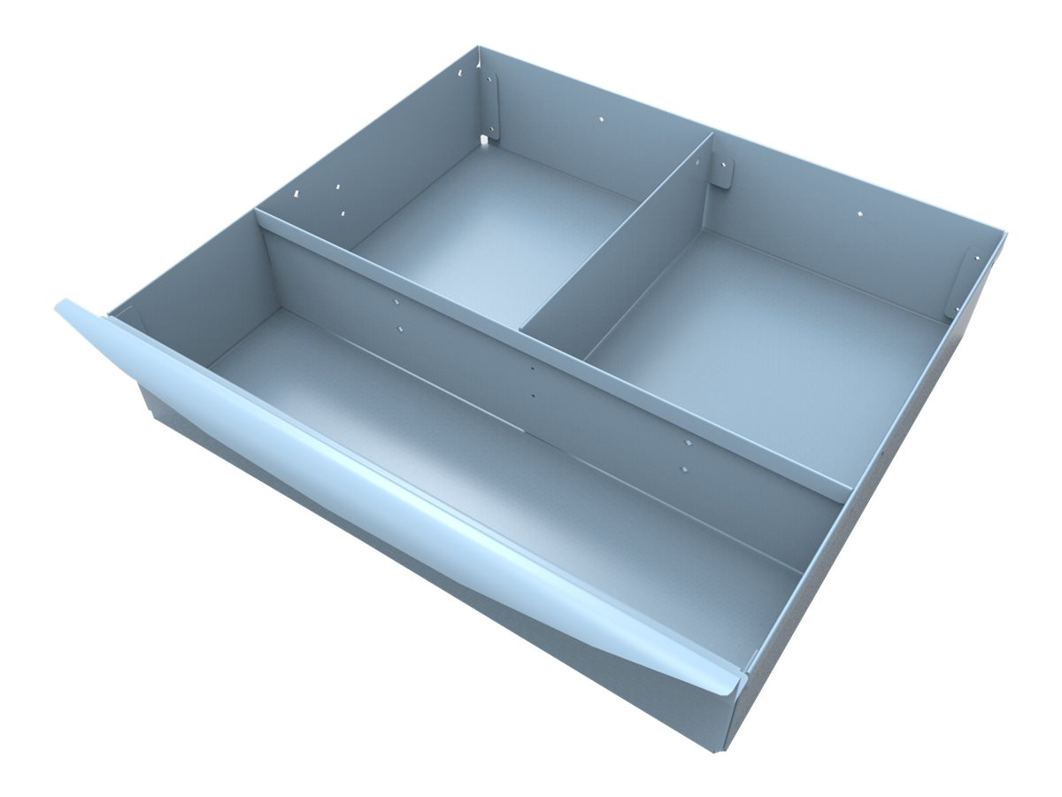 JACO Drawer Insert Tray, 3 Compartments, 2 with Lids - mounting component
