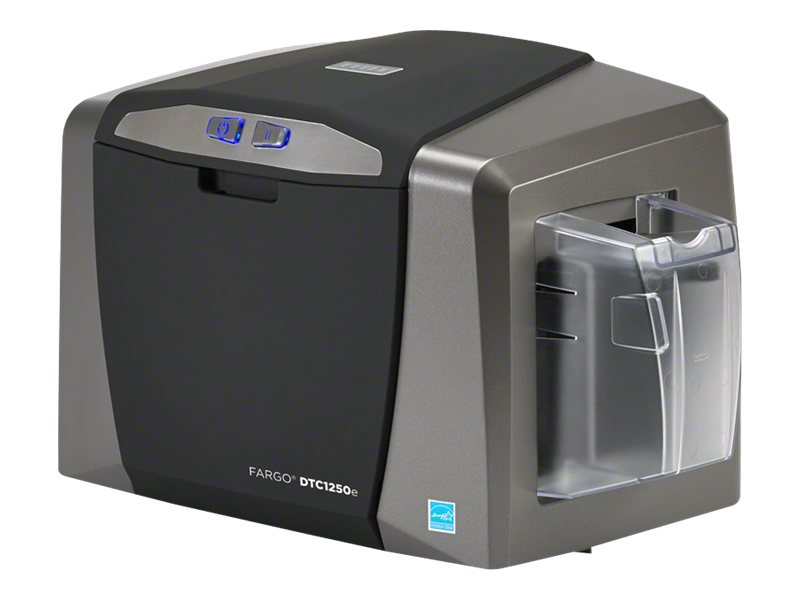 Fargo DTC1250e - plastic card printer - color - dye sublimation/thermal resin