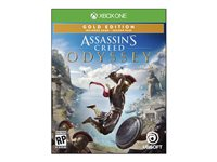 AssassinFEETs Creed Odyssey Gold SteelBook Edition Xbox One