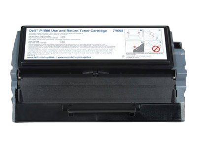 Dell The Use and Return Toner Cartridge - black - original - toner cartridge