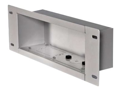 Peerless Recessed Cable Management and Power Storage Accessory Box IBA3-W - mounting kit