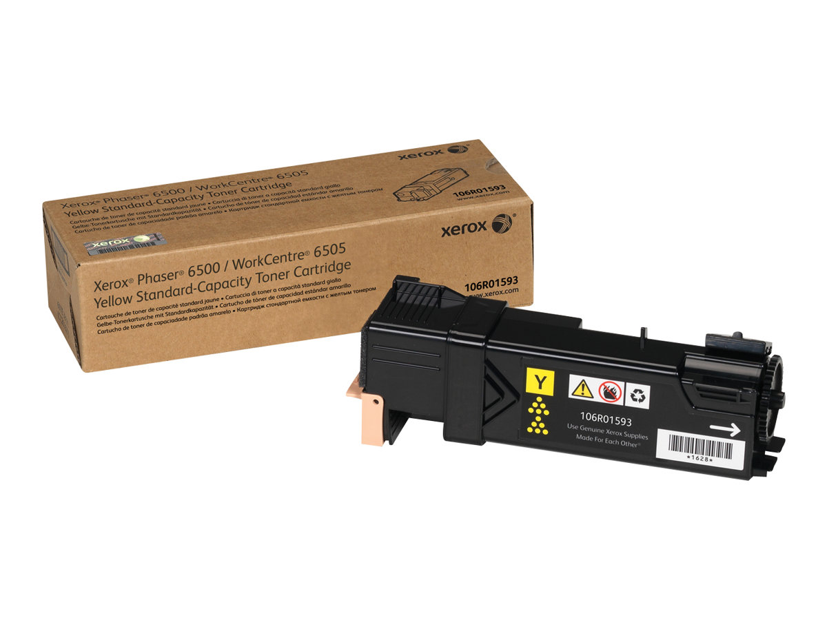Xerox Phaser 6500 - yellow - original - toner cartridge