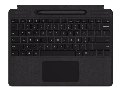 Microsoft Surface Pro X Signature Keyboard with Slim Pen Bundle - keyboard - with trackpad - QWERTY - US - black