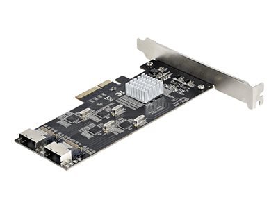 StarTech.com 8 Port SATA PCIe Card - PCI Express 6Gbps SATA Expansion Adapter Card with 4 Host Controllers - SATA PCIe Controller Card - PCI-e x4 Gen 2 to SATA III - SATA HDD/SSD