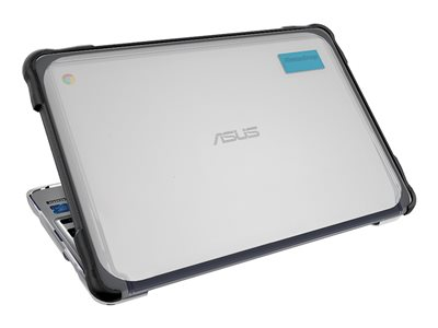 Gumdrop SlimTech Notebook top and bottom cover black for ASUS Chro