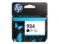 HP 934 Black Ink Cartridge, HP 934 Black Ink Cartridge