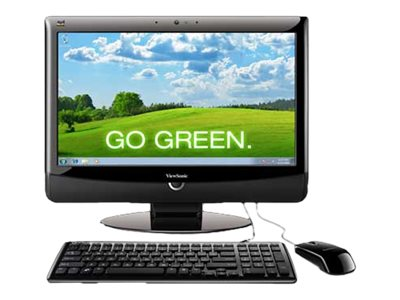 """ViewSonic VPC190 - all-in-one - Atom D510 1.66 GHz - 2 GB - 160 GB - LCD 18.5"""""""