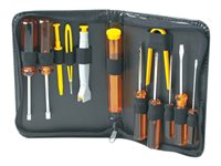 Manhattan Basic Computer Tool Kit, Computer Tool Kit, 13 pieces - Computer repair tool set