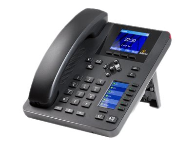 Digium A25 VoIP phone with caller ID 3-way call capability SIP v2, RTP 4 lines