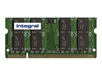 Integral - DDR2 - 2 Go - SO DIMM 200 broches - 667 MHz / PC2-5300 - CL5 - 1.8 V - mémoire sans tampon - non ECC