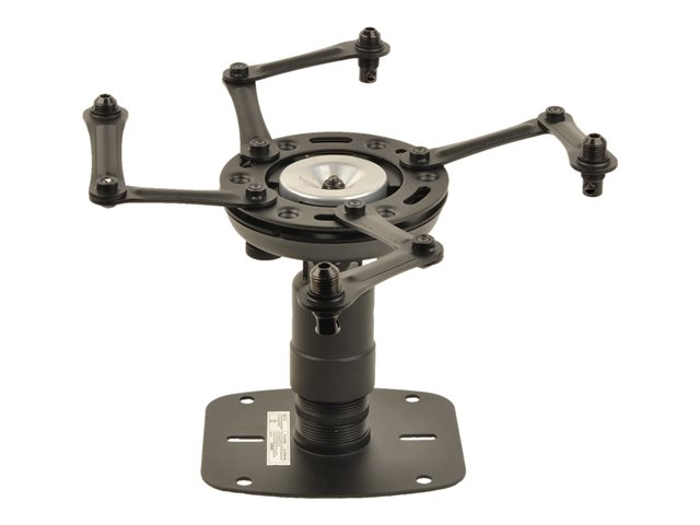 ViewSonic - Mounting kit (ceiling plate) for projector - ceiling mountable - for ViewSonic LS600, LS700, LS750, LS850, LS860, LS900, PG706, PG707, PX703, PX727, X10, X100