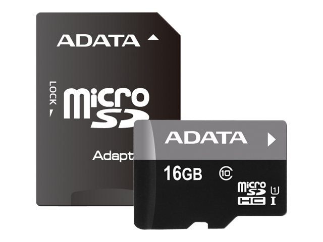 ADATA Premier - flash memory card - 16 GB - microSDHC UHS-I