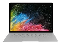 "Microsoft Surface Book 2 - Tablet - with keyboard dock - Core i7 8650U / 1.9 GHz - Win 10 Pro 64-bit - 16 GB RAM - 512 GB SSD - 15"" touchscreen 3240 x 2160 - GF GTX 1060 - Wi-Fi, Bluetooth - silver - kbd: UK - commercial"